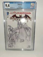 DC Batman #47 Ross Sketch Cover Variant Cgc 9.4 White Pages 2016 FREE SHIPPING