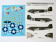 Foxbot - 48-017 - C-47 Pin-Up Nose Art and stencils, Part I - 1:48   *** NEW ***