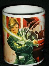 Star Wars Coffee Mug Luke Skywalker Darth Vader 2011 LucasFilms Galerie