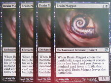 XXX 4x Brain Maggot inglese Journey into Nyx (Insect Black) NM/MINT XXX XXX XXX