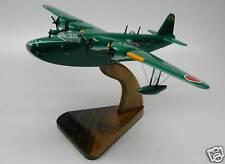 Kawanishi H8K2 Flying Boat Seaplane Desktop Kiln Dry Wood Model Regular New