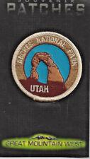 Arches National Park Souvenir Utah Patch