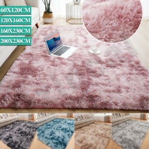 Floor Rug Rugs Fluffy Area Carpet Shaggy Soft Large Pads Living Room Bedroom Pad