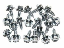 "Lincoln Body Screws- 1/4"" x 3/4"" Long- 3/8"" Hex- 5/8"" Washer- 20 screws- #175"