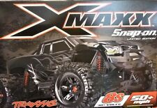 NEW! Snap On Limited Edition BLACK Traxxas Xmaxx 8S 4WD /w Batteries/Charger