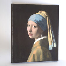 Vermeer-The Girl with the Pearl Earing- Giclée print on streched canvas