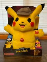 "Pokemon Detective Pikachu Movie 12"" Talking Plush 2 Mode 2019 Wicked Cool Toys"