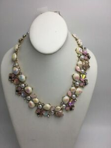 $195 Betsey johnson sea life statement necklace A24