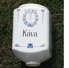 wall coffee grinder mill resin Koffie kaffee kave café Jar vase container vtg