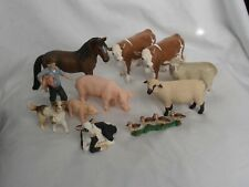 More details for job lot schleich farm animals and farmer figures