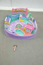 Polly Pocket Mini Bluebird Polly ´S Piscine Fête + 1 Figurine 1997 K16 O