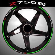 LISERETS JANTES MOTO Z 750 S Z750S STICKERS kit pour 2 jantes 40 couleurs