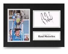 Raul Meireles Signed A4 Photo Display Chelsea Autograph Memorabilia + COA