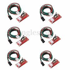 6pcs RAMPS 1.4 Mechanical Endstop Limit Switch With Cable for CNC 3D Printer