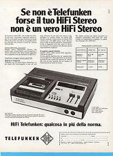 (AM) EPOCA974-PUBBLICITA'/ADVERTISING-1974-TELEFUNKEN MC 2200 HIFI