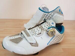 Bontrager Meraj Women's Road Shoe SIZE 40 UK 7.5 White/ Blue