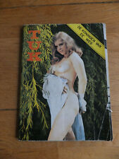 Vintage porn magazine TUK Nº48 70s 1973 erotica sex Vintage