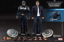 CAPTAIN AMERICA & STEVE ROGERS Winter Soldier MMS243_HOT TOYS 1:6_902186 SEALED