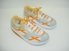EXC MBT M Walk Orange Lace Up Walking Toning Fitness Shoes US Size Womens 9