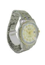 Bulova Precisionist 98B156 Men's Round Analog Date Stainless Steel Watch