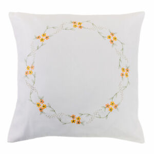4 Embroidery Cushion Covers -7136
