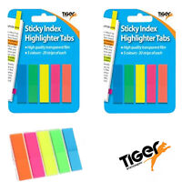 Sticky Note Pencil Highlight Neon Tabs Index Flags Page Markers 301469