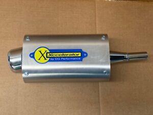 "DG Performance ""Xccelerator"" Muffler for Honda Sportrax 90"