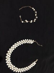 Gold Necklace Bracelet from (Egypt)