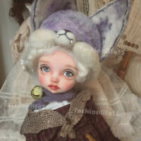 Bjd 1/8 Doll little Miu Child Free Eyes + Face Make Up BJD SD Dolls Resin
