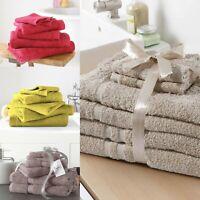 GIFT BALE SET 6 PCS FACE HAND BATH TOWEL NEW 100% COTTON TOWEL BALE SET SHEETS