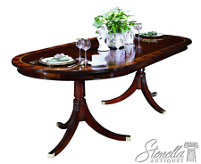 L37669: HENKEL HARRIS  #2235 Banded Top Mahogany Dining Room Table ~ New