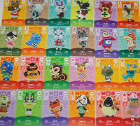NEW amiibo - Animal Crossing - Series 2 Cards Pick Your Own 151-200 Nintendo 3DS
