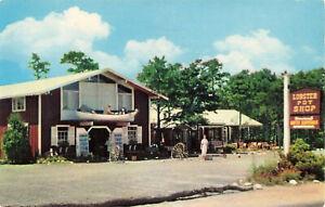 Postcard The Lobster Pot Shop Cape Cod Massachusetts