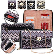Women's Convertible Tribal Smartphone Wristlet Cover & Crossbody Purse SUNIS2-17