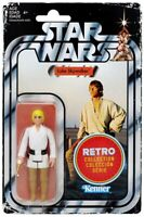 "Luke Skywalker Star Wars Retro Kenner Figure NEW 3.75"" Target Hasbro💥 card dmg"