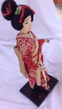 VINTAGE  NISHI JAPANESE DOLL (16 INCH DOLL) GEISHA GIRL IN KIMONO MAFE IN JAPAN