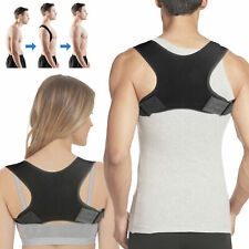 Posture Back Corrector Shoulder Straight Support Brace Belt Therapy Men Women