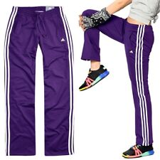 Adidas Mädchen Trainingshose 3S Sport Hose Jogginghose Firebird Kinder lila/weiß