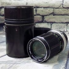 Minolta 135mm Camera Lens MC Tele Rokkor QD F3.5 w/ Case