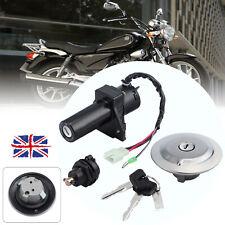 Ignition Switch Keys Lock Set Gas Cap Seat Fuel For Yamaha YBR125 YBR 125 New