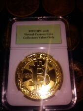 2018 BITCOIN Virtual Currency Coin Collectors Value Only