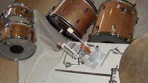 ROGERS Drum Set (Partial) - VINTAGE..! ***Add-On***