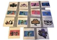 10 x Individual  Fortnite Temporary Tattoos  Kids Birthday Party Bag Filler