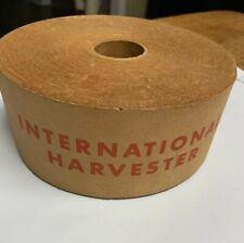 International Harvestor Vintage Original Box Tape