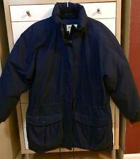 Eddie Bauer Premium Goose Down Long Full Parka Coat Jacket Women's L EXC COND!