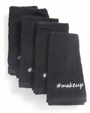 Cynthia Rowley Black Makeup Towels Soft Absorbent Cotton #makeup