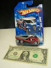 Hot Wheels Red Cabbin' Fever Semi Truck - HW Racing - Snowflake Card #7 - 2009