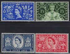 Great Britain Scott 313-316 Mint Hinged