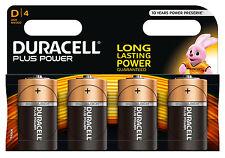 Duracell MN1300 D Alkaline Batteries - 4 Count