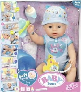 NEW New Baby Born Soft Touch - Boy from Mr Toys